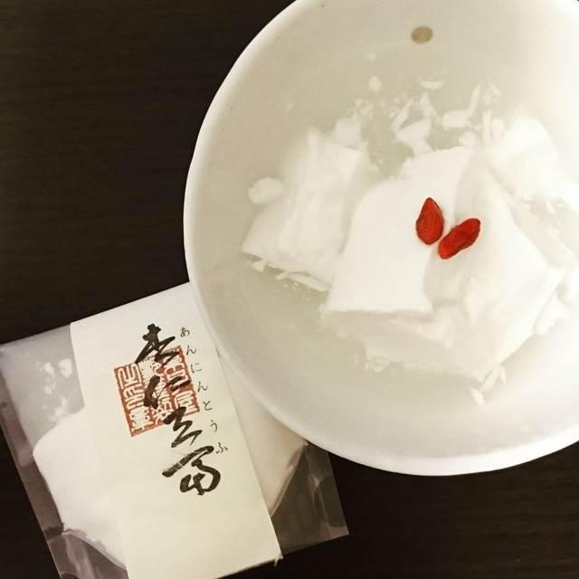艶の杏仁豆腐♪