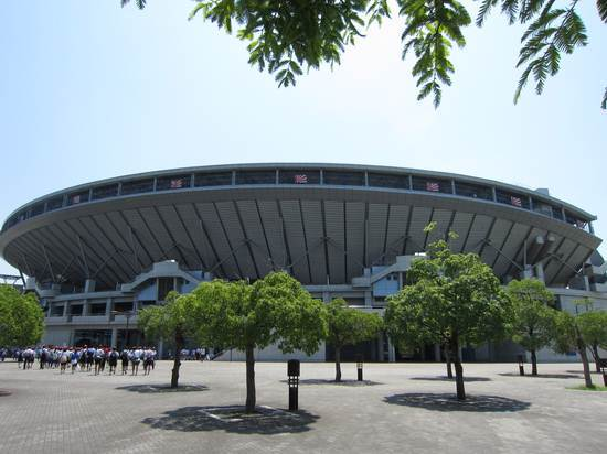 初♪高校野球ヽ(^o^)丿